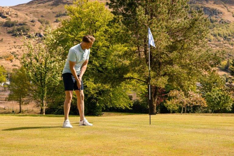 Golf in Loch Lomond